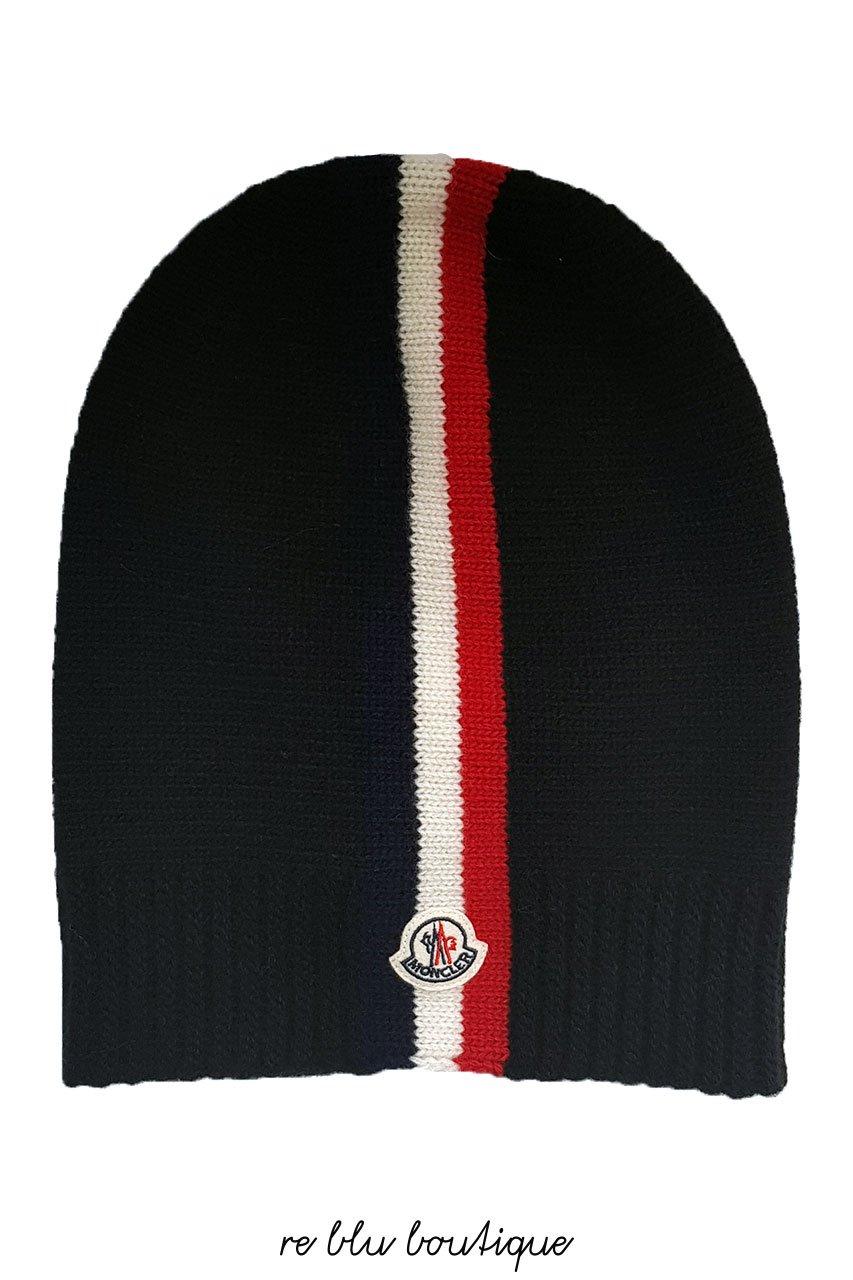 gamma esclusiva informazioni per San Francisco cappello cuffia moncler nero – Re Blu