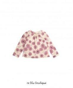 """Interamente realizzato in cotone, questo camicetta modello """"Mathilde"""" di Bonpoint è sublimata dalla sua stampa fucsia floreale rosa e dalla sua vestibilità leggera e ampia con uno spirito classico e senza tempo"""
